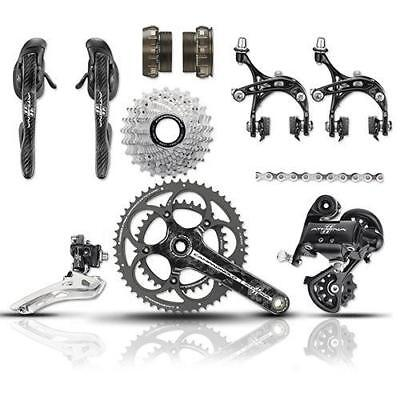 Campagnolo 2015 Athena 11sp Double Carbon Groupset