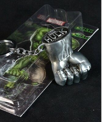 Superheroes The Avengers HULK Fist Exquisite Alloy Keychain Hangings Pendant New