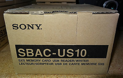 Sony SBAC-US10 SxS Memory Card Reader Writer for PMW-EX3 PMW-EX1 NEW