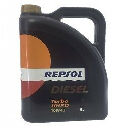 Aceite Camion Repsol Diesel-Turbo UHPD 10w40  5Ltrs