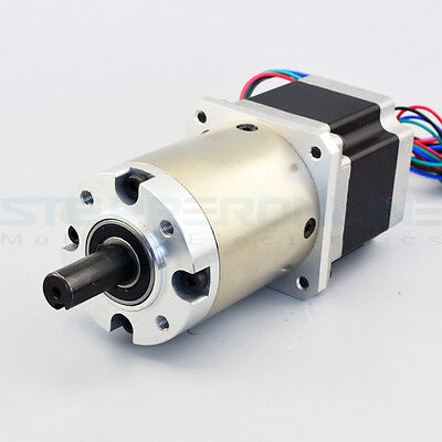 15:1 Nema 23 Gear Ratio Planetary Gearbox 2.8A Geared Stepper Motor Extruder OSM