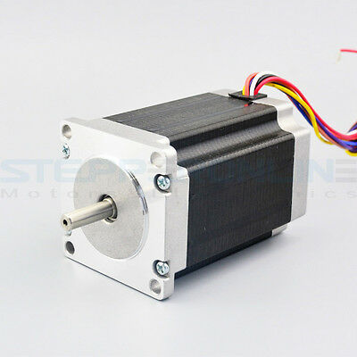 Dual Shaft Nema 23 Stepper Motor 2.83Nm(400 oz.in) 4.0A Unipolar/Bipolar