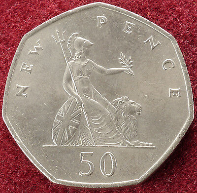 GB Large 50 Pence 1969 to 1996 (Choose the Year) Very Fine or better