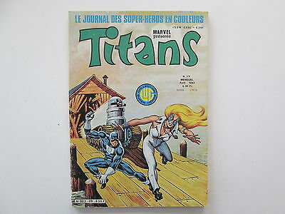 Titans N°39 Be/Tbe
