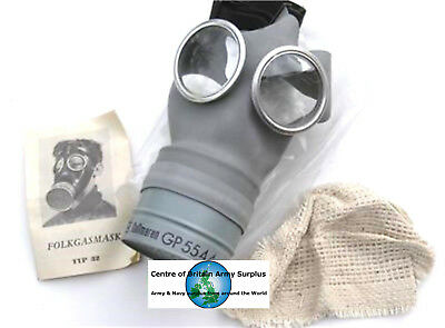 Sweden Swedish Army Gas Mask Type 32 Boxed 1955