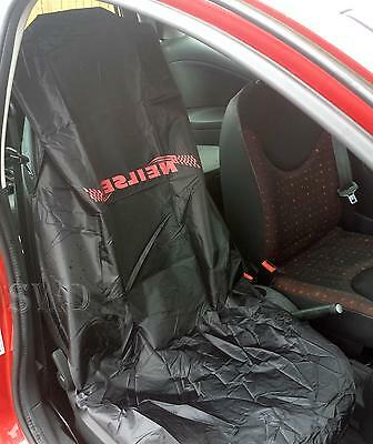 car Light Weight Water Resistant Nylon Seat Protector Cover garage workshop PAIR