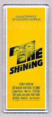 THE SHINING movie poster LARGE 'WIDE' FRIDGE MAGNET - HORROR CLASSIC!