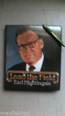 """Earl Nightingale, 6 cassettes, w/Guide, """"Lead The Field"""" SEE CONTENT INDEX BELOW"""