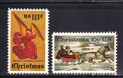ESTADOS UNIDOS/USA 1974 MNH SC.1550/1551 Christmas