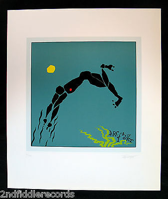 STEVE WINWOOD-ARC OF A DIVER-Artist Signed &  John Kosh Owned Lithograph-#52/200