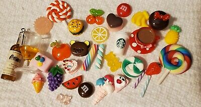 *BIG SALE* So CuTe! KAWAII DESSERTS! Sweets,food,Cabochon,resin,Flat back,SLIME