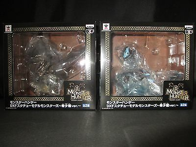 Rathalos and Lagiacrus rare species DXF Figure set Monster Hunter Banpresto