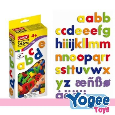 QUERCETTI Magnetic Lowercase Letters 48pcs