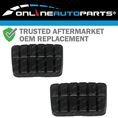 New Clutch + Brake Pedal Rubber Pad Pair suits Navara D21 D22 1986-2013 Manual