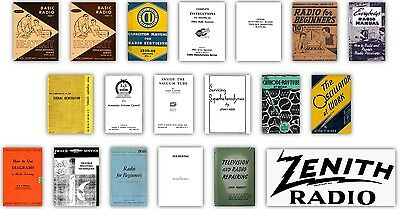 VOLUME 2: Antique Radio Servicing Library - 19 Books - Over 4,600 Pages on CD