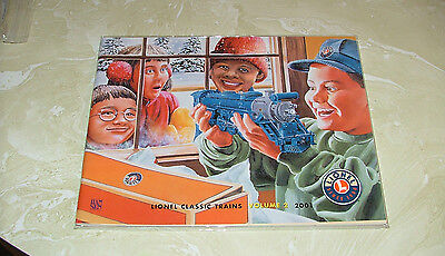 2001 Volume 2 Lionel Classic Trains Catalog