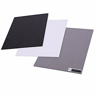 photo Color/White Balance Card Set for Digital Photography Full-sized, 8 X 10""