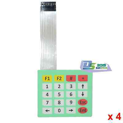 4 Matrix Array 20Key Slim Membrane Switch 4x5 Keypad 4*5 Keyboard For Arduino