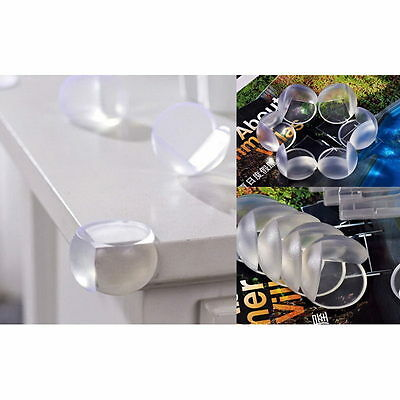 10PCS Clear Child Baby Safety Table Corner Edge Protect Cover Excellent New