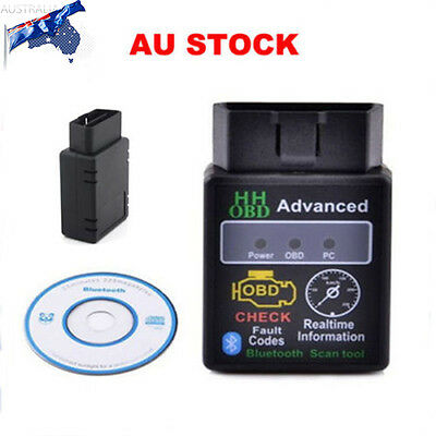 Advanced Bluetooth Car Vehicle Auto Diagnostic Scanner Tool ELM327 ODB2 NEW