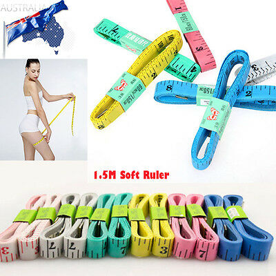 New Soft Ruler 1.5M Measure Tape Sewing Tailor Body Measuring Tape Flexible Rule