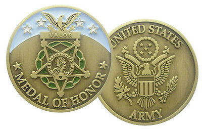 """MEDAL OF HONOR """"Army"""" (Monnaie Commemorative)"""