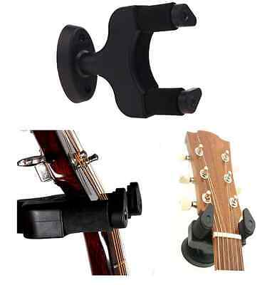Guitar Wall Hanger Mount for Electric, Acoustic, Bass Instrument Strong Nylon