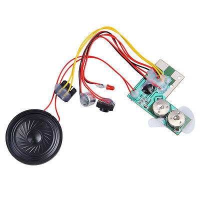 10sec Recordable Voice Module for Greeting Card Music Sound Talk Chip Musical #L