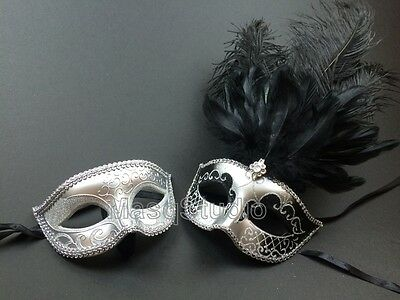 Lace Masquerade Mask Couple School Dance Prom Wedding Bachelor Birthday Party
