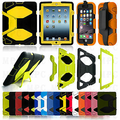 Heavy Duty Shock Proof Tough Case Survivor Full Protection for Apple and Galaxy