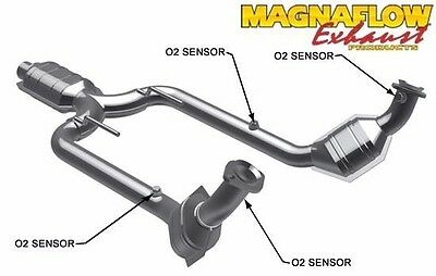 Magnaflow Direct Fit Catalytic Converter 1994-1997 Ford Thunderbird 4.6L