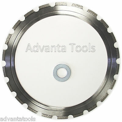 """14"""" Laser Welded Ring Saw Blade for Hard Materials w/ Drive Wheel -Premium Grade"""