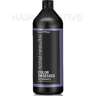 Matrix NEW Total Results Color Obsessed Conditioner 1000ml/1 Litre (Color Care)