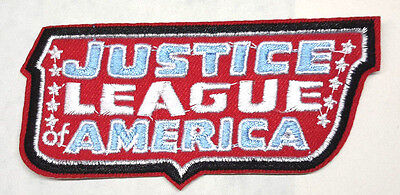 """Justice League of America Logo  4"""" Embroidered Patch- FREE S&H (DCPA-JLA)"""