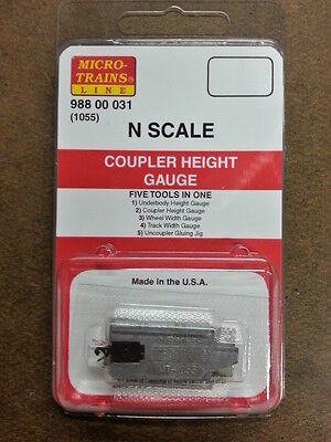 Micro-Trains 98800031 – Coupler Height Gauge – N Scale