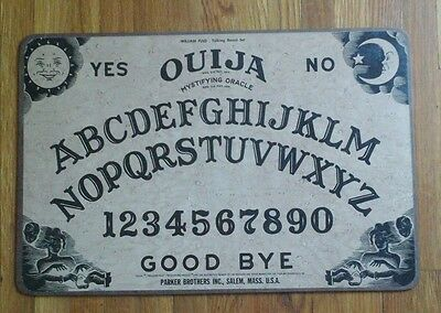Vintage OUIJA Board Parker Brothers With Box William Fuld Talking Board Set