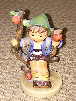 Vintage Goebel Hummel Apple Tree Boy #142 Figurine Good Condition