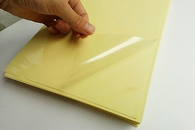 20 Sheets A4 Clear Transparent Self Adhesive Paper Sticker Label Laser Printer