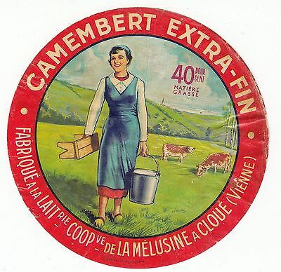 Fromage  Camembert Extra Fin Melusine A Cloue Vienne