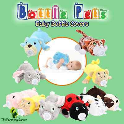 NEW Bottle Pets Plush Baby Bottle Cover for Babies, Infants & Toddlers