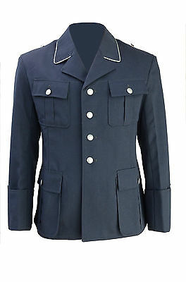 German Luftwaffe OFFICERS GABARDINE TUNIC - All Sizes WW2 Repro Uniform Jacket