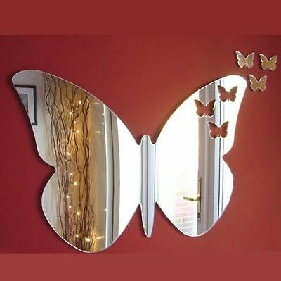 Butterflies out of Butterfly Acrylic Silver Mirrors 12cm to 50cm