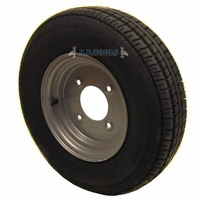 "Trailer Wheel and Tyre 145 x 10"" 8 PLY 51/2"" PCD TRSP05"