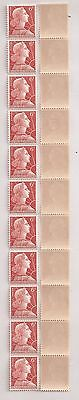 France - Roulette N°38 de 11 timbres N°1009A ** - MNH - LUXE