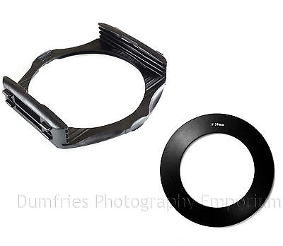 TianYa Filter Holder Mount + 58mm Adapter Ring - Compatible with Cokin P Series