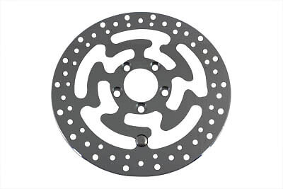 V-Twin Stainless Replica 11.8 Rear Brake Rotor Disc for Harley Touring 08-15