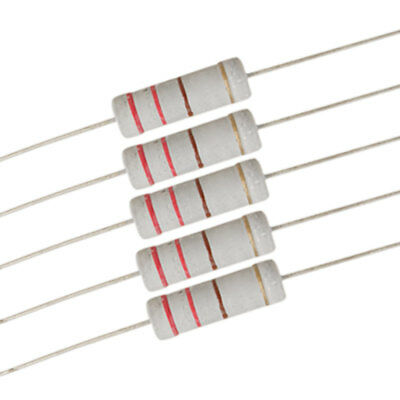 5 Watt 220 ohm Metal Oxide Film Resistor 5W 700V 10 Pcs