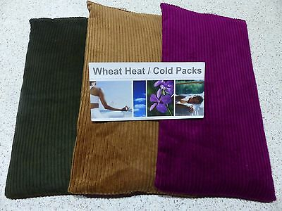 3 x Wheat Heat Cold Bags Bulk Pack LAVENDER & CHAMOMILE- FREE EXPRESS POST