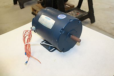 Leeson 1/4 Hp Electric Motor 208-230/460 Volts, 1725 Rpm, C56 Frame