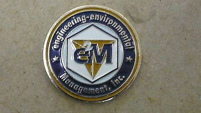 Engineering-Environmental Management, Inc. Challenge Coin